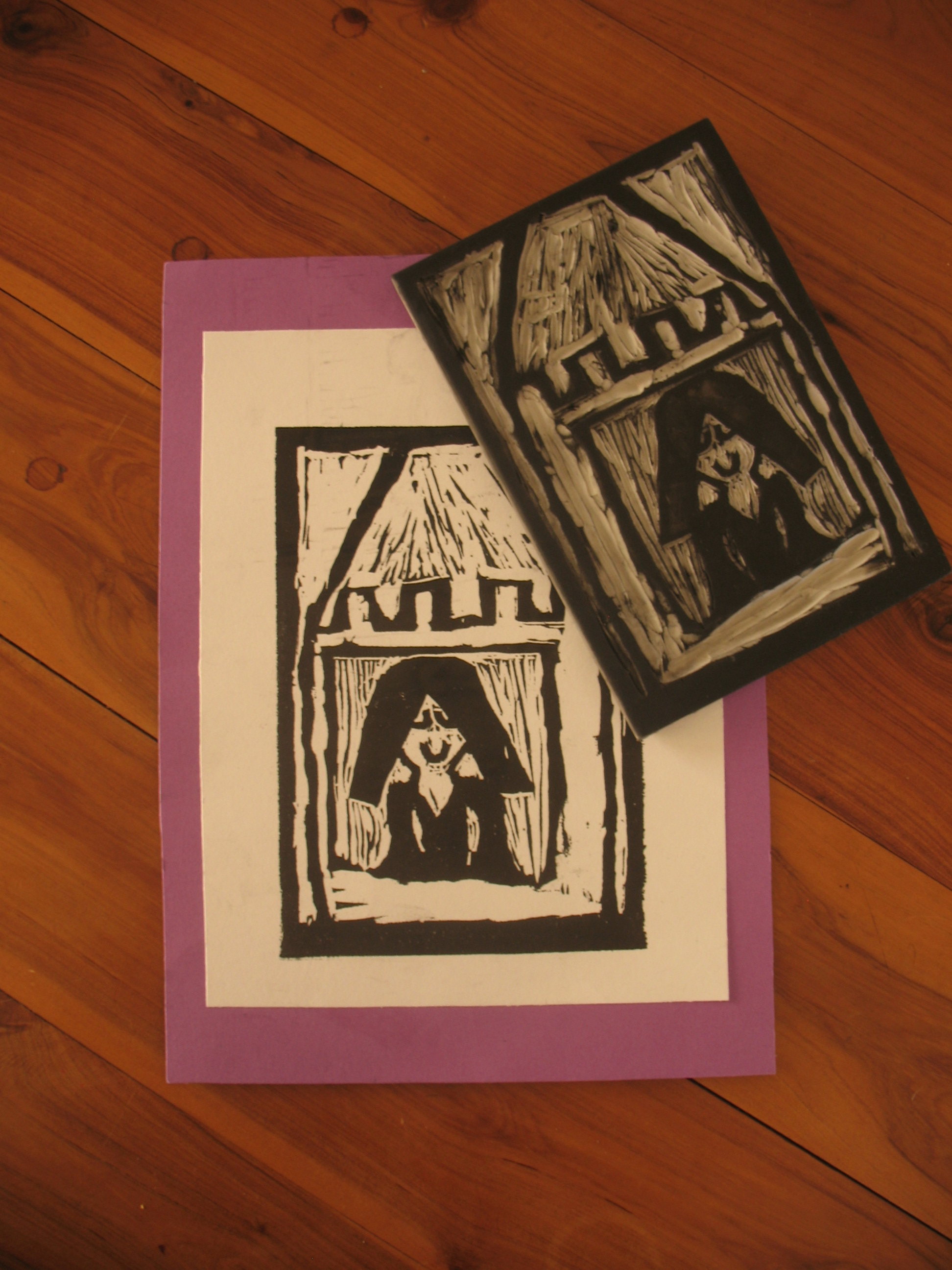 Relief Print by Anais age 10years